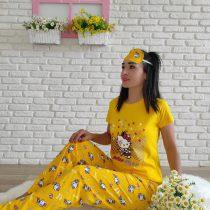 Hello Kitty Pijama Takımı (sarı)