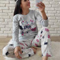 Lucky Pijama Takımı (Gri)